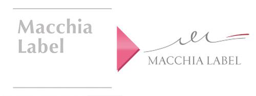 マキアレイベルのロゴがスタイリッシュに一新